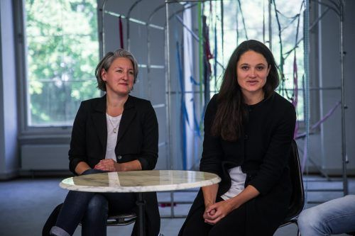 Mirjam Steinbock und Maria Simma zählen zu den Initiatiorinnen des Vereins. VN/Steurer