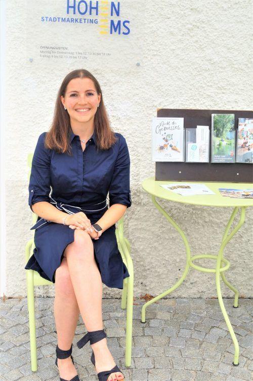 Mit Andrea Ruckendorfer hat Hohenems eine junge Tourismuschefin.yas