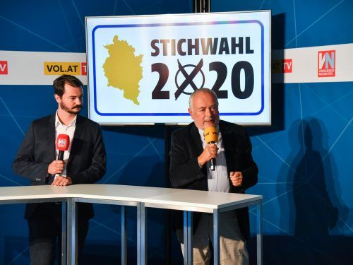 Moritz Moser und Wolfgang Burtscher analysierten die Diskussion.