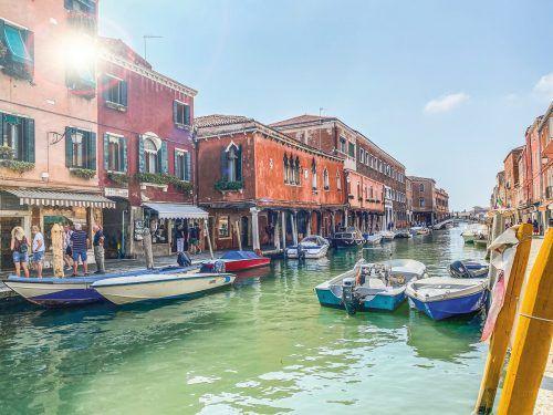 Murano ist nicht nur für Produkte aus Glas bekannt, es ist auch wunderschön.Beate Rhomberg