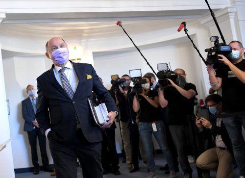Nationalratspräsident und U-Ausschuss-Vorsitzender Wolfgang Sobotka kam am Mittwoch als Auskunftsperson.APA