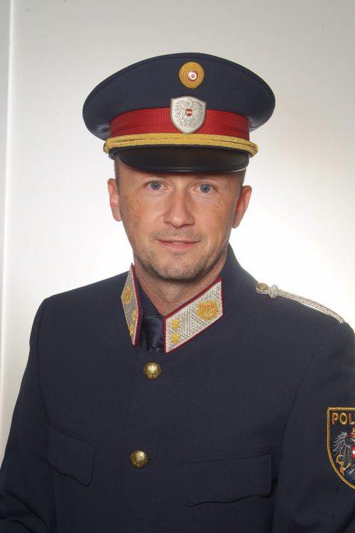 Neuer Leiter der PI Götzis: Bernd Feuerstein.
