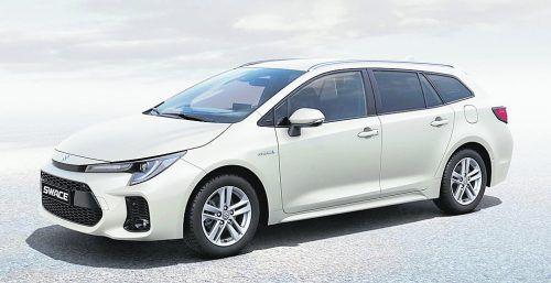 Neues Modell mit Toyota-Unterstützung: neuer Suzuki Swace.werk