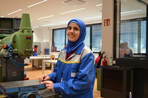 Nisrine Almohammad ist von den Ausbildungsmöglichkeiten im Land begeistert. BI