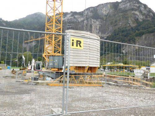 Noch stehen die Bauarbeiten im Walchsmahd ganz am Anfang.mima
