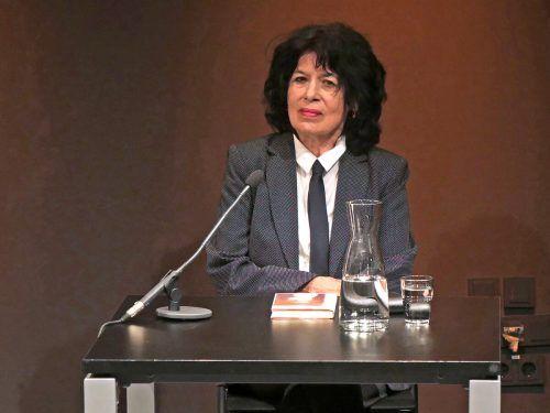 Nominiert: Vorarlberger Schriftstellerin Monika Helfer. hv