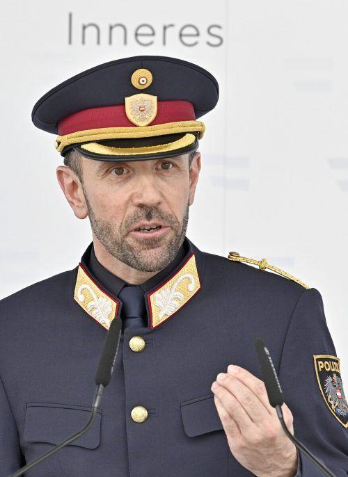 Oberster Polizist FranzRufsieht Indikatoren einer Beeinflussung durch die Türkei.
