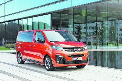 Opel Zafira-e Life: Der Familien-Van ist, wie die Verbrenner, in drei Längen erhältlich.