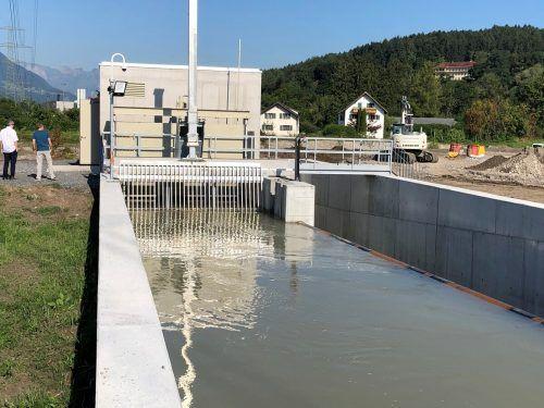Optimale Lösung für ein neues Gewässersystem, Ökostrom und Rückkehr der Fische.