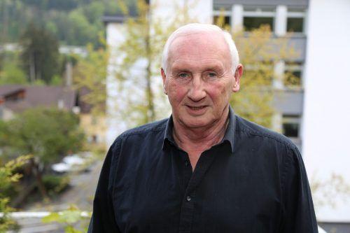 Ortsvorsteher Dieter Preschle spricht den Levnern seinen Dank aus.Archiv/Uysal