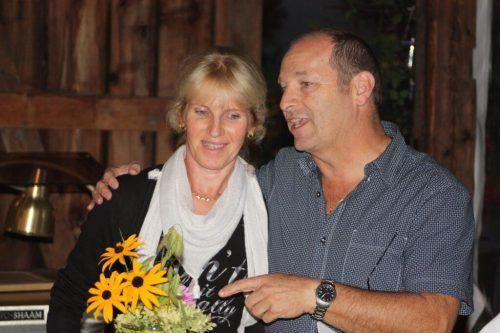 Peter Ladurner wurde bei seiner Verabschiedung von Ehefrau Rosi begleitet.