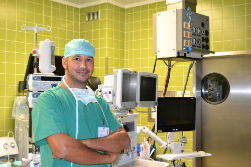 Philipp Bichay sieht als Unfallchirurg viele Verletzungsmuster.bischof