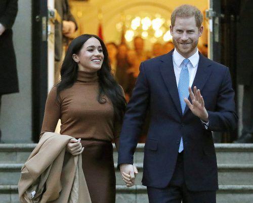 Prinz Harry und Meghan kauften unlängst ein Haus in Kalifornien. AP