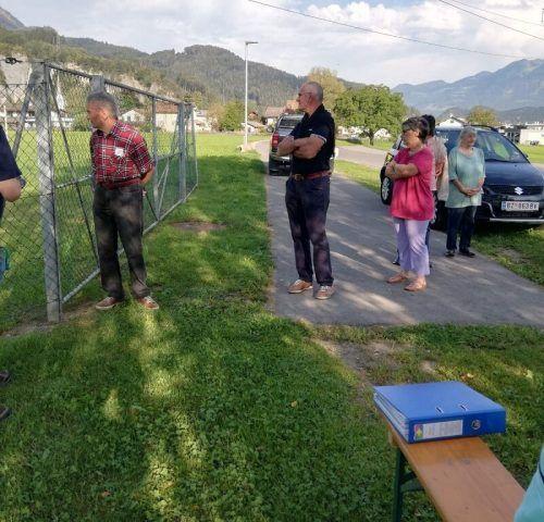 Pensionisten besuchten die Bürser Trinkwasseranlage und erhielten wertvolle Infos.PVÖ