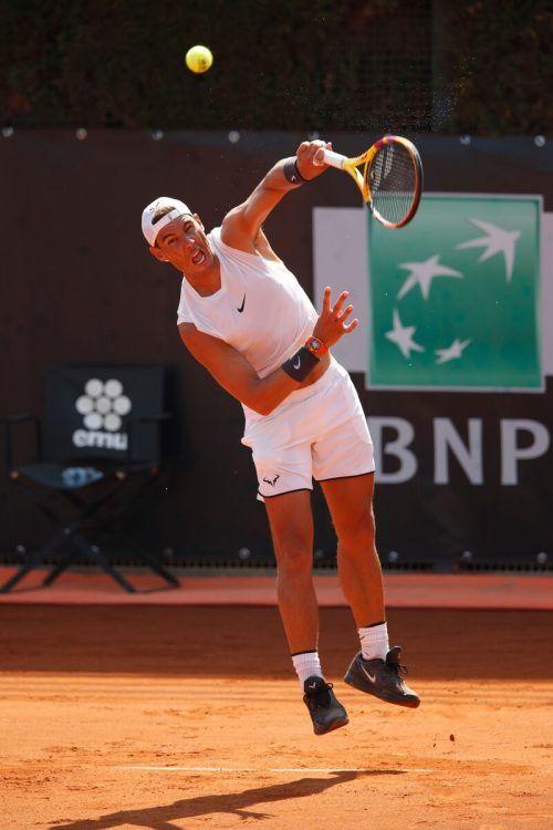 Rafael Nadal steigt in Rom in die Turniersaison ein.apa