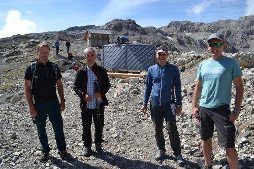 Rainer Schlattinger, Bruno Spagolla, Andreas Schmidt und Michael Spalt.