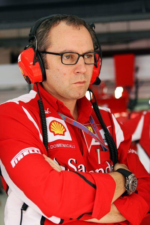 Regierte sieben Jahre lang bei Ferrari: Stefano Domenicali.gepa