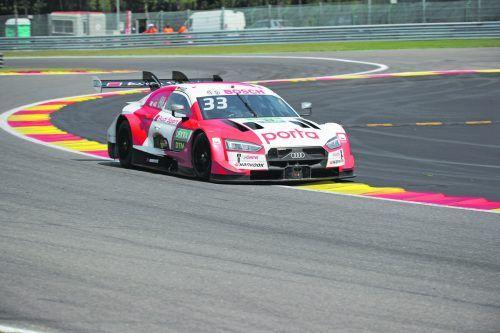 Rene Rast fuhr auf dem Nürburgring mit seinem Audi vom Team Rosberg auf die Plätze zwei und drei.GEPA