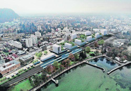 Ritsch schwebt ein Projekt vor, das eine unterirdische Straßenführung und einen weiter ins Zentrum verlegten Bahnhof vorsieht.VULB