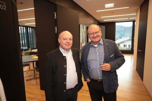 Rudi Gort (l.) und Altvizekanzler Hubert Gorbach.