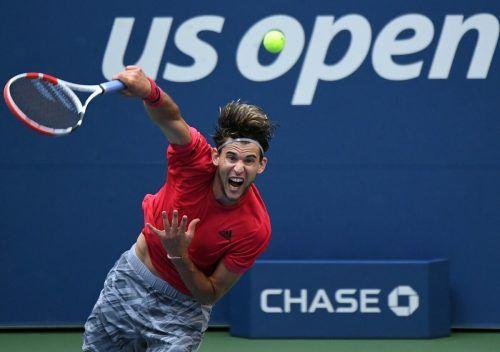 Runde für Runde hat sich Dominic Thiem bei den US Open gesteigert. Der an Nummer zwei gesetzte Österreicher ist nun Favorit.gepa