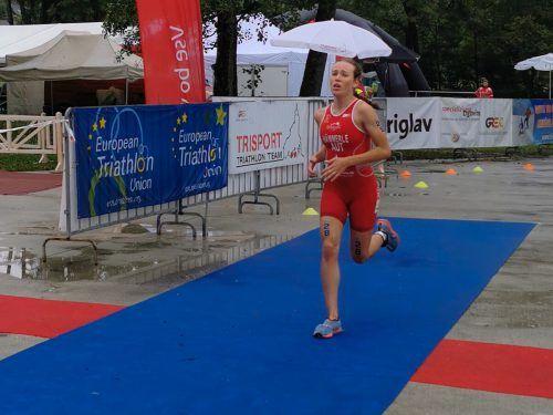 Sarah Hämmerle belegte Rang zwei bei den Juniorinnen.Privat