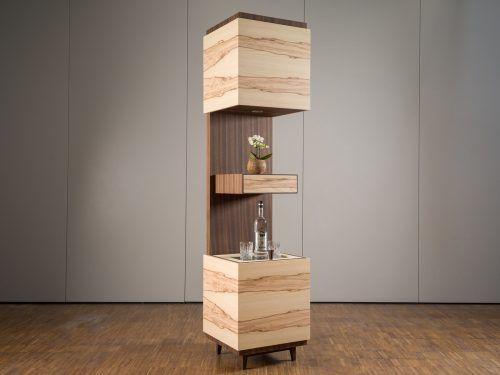 Schnapsbar vertikal nennt sich das Meisterstück von Maximilian Ebert.