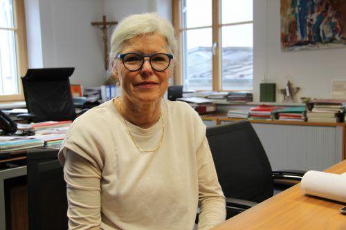 Seit 2013 ist Angelika Schwarzmann Bürgermeisterin von Alberschwende. 2015 wurde sie mit über 80 Prozent gewählt, heuer ist es knapp geworden.