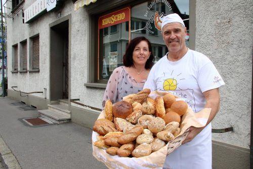 Seit 25 Jahren in Schwarzach: Brigitte und Robert Mittelberger.nam