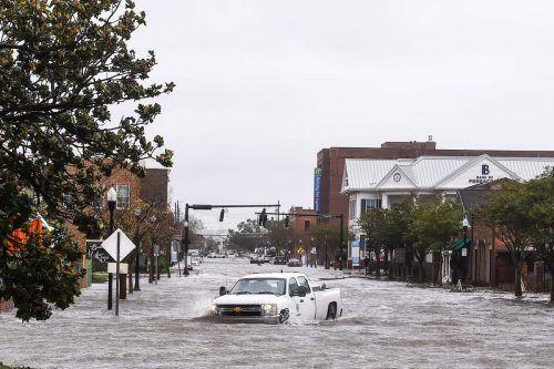Sintflutartige Regenfälle haben für massive Überflutungen gesorgt. AFP