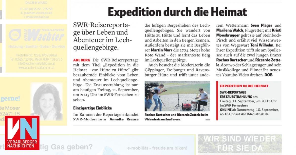 Expedition Durch Die Heimat Vorarlberger Nachrichten Vn At