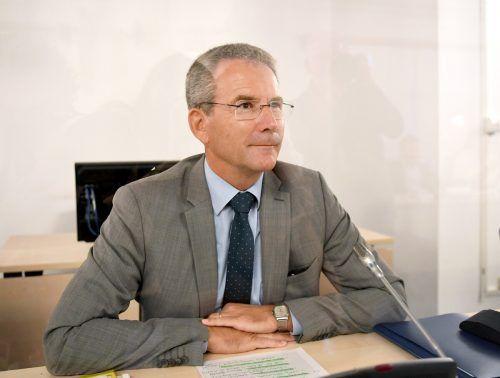 """""""So bin ich nicht"""", sagte Ex-Finanzminister Hartwig Lögerzu Beginn seiner Befragung am Donnerstag.APA"""