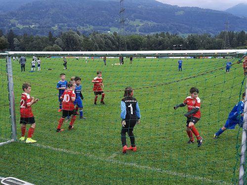 Spannenden Nachwuchsfußball bot das 1. Jagdberg-Vorbereitungsturnier zwei Tage lang in Satteins.SV Satteins