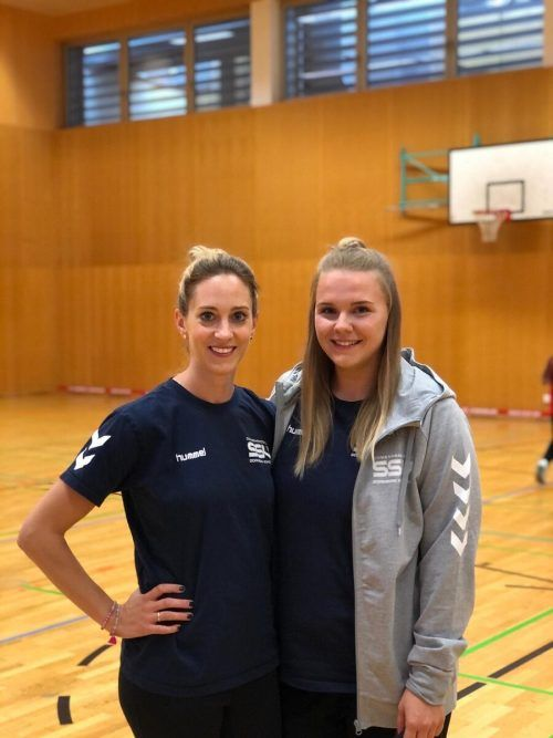 Stefanie Mairitsch (links) und Nadine Ehgarter sind die neuen Jugendleiterinnen des SSV Schoren.cth