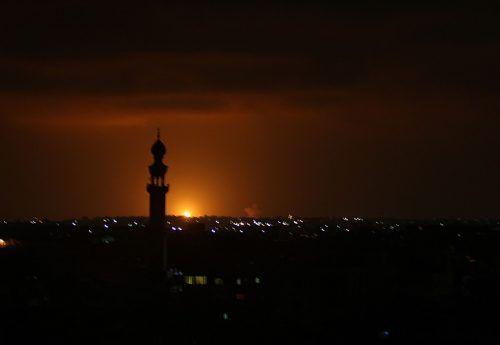 Stellungen der Hamas wurden getroffen. AFP