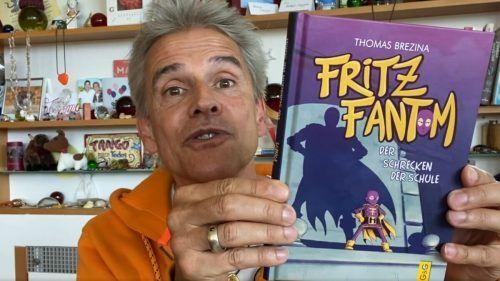 """Thomas Brezina ist mit """"Fritz Fantom"""" auch auf buchambach.at dabei."""