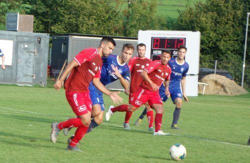 Thomas Dos Santos erzielte im Cupspiel gegen den FC Bizau den entscheidenden Treffer. siha/3