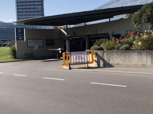 Über die Parkgarage eröffnet sich Personen, die einen Patienten im Spital in Feldkirch besuchen wollen, ein Schlupfloch.vn/wittwer