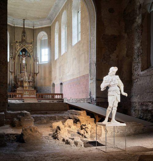 Wäre bis 31. Jänner zu sehen gewesen: Installation von Oliver Laric in der Feldkircher Johanniterkirche. kuzmanovic