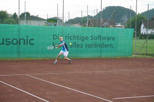 Valentin Werner holte Gold im Einzel und Doppel der U-18-Klasse.Privat
