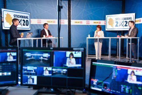 VN, VOL.at und LändleTV berichten in ihrem Wahlstudio am Sonntag umfassend über die sechs Stichwahlen, live ab 12.30 auf VN.at.VN