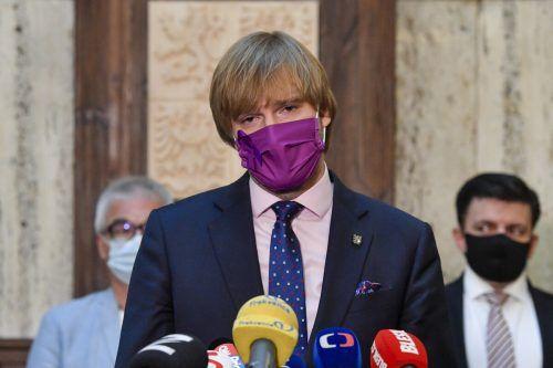 Vojtech verkündete seinen Rückzug vom Ministeramt. AP