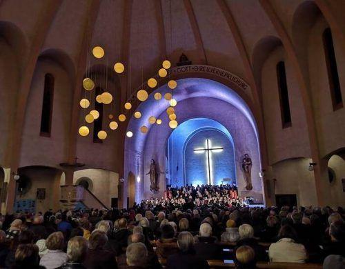 Volle Kirche, tolle Chöre: So war es in Bludenz vor Corona. Stadt Bludenz