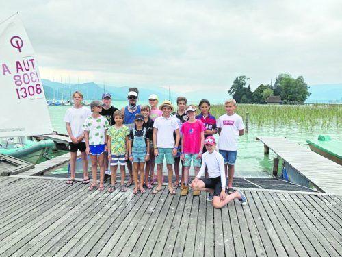 Vorarlbergs Nachwuchs in der Optimisten-Klasse musste bei den österreichischen Meisterschaften viel Geduld aufbringen.Verein