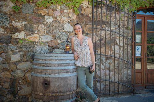 Winzerin Camille-Anaïs Maestracci leitet seit ein paar Jahren das Weingut.