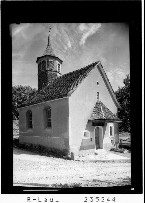 """1819 wurde die Kapelle """"Maria Opferung"""" errichtet."""