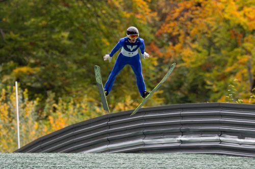 Andre Fussenegger wurde in der Jugend-2 Zweiter und Dritter.GEPA
