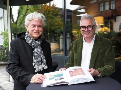 Architekt Willem Bruijn (onehundredyears.eu) und Markus Hladik.