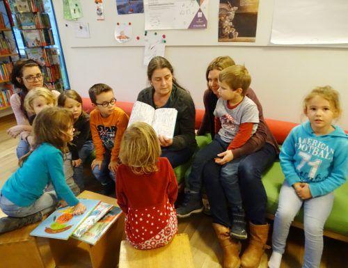 Auch das Vorlesen für Kinder ab vier Jahren findet wieder statt.tf