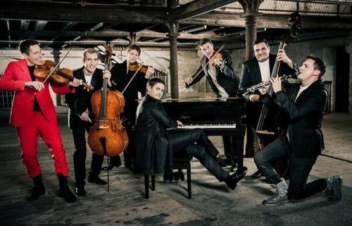 Auch die Philharmonix gehörten zu den Meisterkonzerten.Max Parovsky